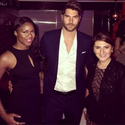 ivy ejam nick bateman oscar gold party